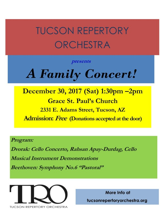 TRO Family Concert 12.30.17